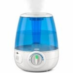 最好的凉爽雾加湿器选项:Vicks无滤网超声波凉爽的雾气加湿器
