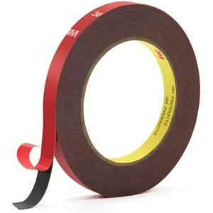 The Best Double-Sided Tape Option: HitLights 3M Heavy Duty Mounting Tape