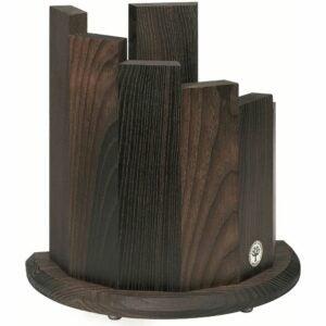 The Best Knife Block Option: Boker 30402 Wood Magnetic Knife Block