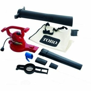 The Best Leaf Mulcher Option: Toro 51609 Ultra Electric Blower with Metal Impeller