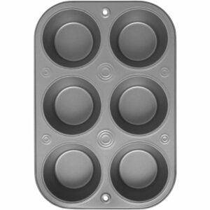The Best Muffin Pan Option: OvenStuff Non-Stick 6 Cup Jumbo Muffin Pan