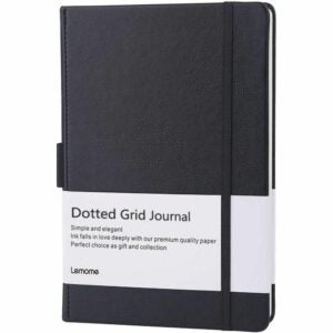 The Best Notebooks Option: Lemome Dotted Bullet Notebook with Pen Loop