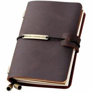 最好的笔记本电脑选项:Robrasim Refillable手工旅行者笔记本