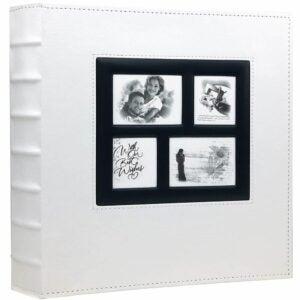 The Best Photo Album Option: RECUTMS Leather Cover Wedding Photo Album