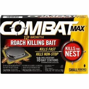 The Best Roach Bait Option: Combat Max 12 Month Roach Killing Bait