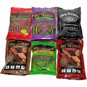 The Best Wood Pellets Option: BBQrs Delight Wood Smoking Pellets Variety Value Pack