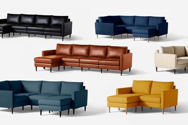 Allform modular sofa multiple options