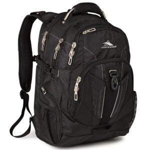 Best Backpacks Options: High Sierra XBT-TSA Laptop Backpack, Black, One Size