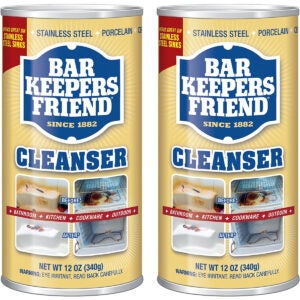 Best Bathtub Cleaner Options: Bar Keepers Friend Powdered Cleanser