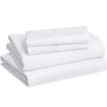 Best Bedding Options: AmazonBasics Lightweight Super Soft Easy Care Microfiber Sheet
