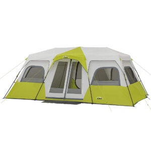 Best Camping Tents Options: CORE 12 Person Instant Cabin Tent
