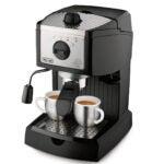 Best Cappuccino Maker Options: De'Longhi EC155 15 Bar Pump Espresso