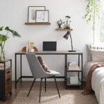Best Desk Options: VASAGLE Computer Desk, 55-Inch Writing Desk