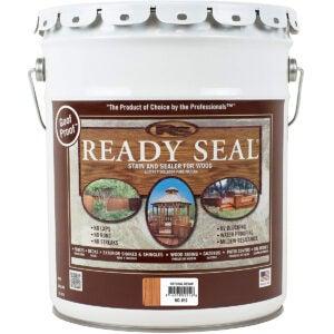 Best Fence Paint Options: Ready Seal 512 5-Gallon Pail Natural Cedar