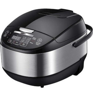 Best Rice Maker Options: COMFEE' 5.2Qt Asian Style Programmable All-in-1 Multi Cooker