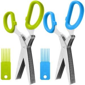 最佳剪刀选项:2包不锈钢草本剪刀