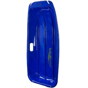 Best Sled Options: Lucky Bums Kids Plastic Snow Sled Toboggan