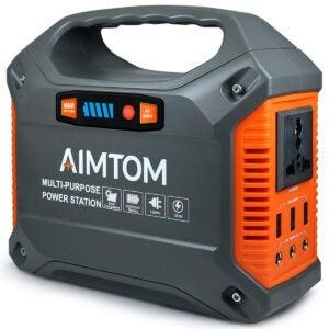 最佳太阳能发电机选择: AIMTOM 42000mAh 155Wh Power Station