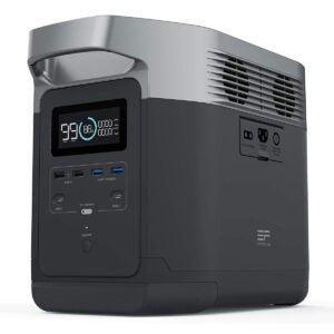 最佳太阳能发电机选择: EF ECOFLOW Portable Power Station EFDELTA