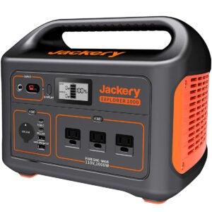 最佳太阳能发电机选择: Jackery Portable Power Station Explorer 1000