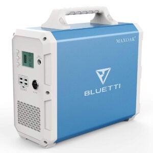 最佳太阳能发电机选择: MAXOAK Portable Power Station BLUETTI EB150