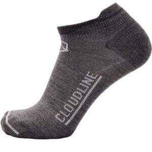 Best Wool Socks Options: CloudLine Merino Wool Athletic Tab Ankle Running Socks Light Weight