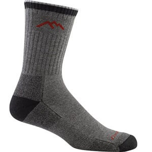 Best Wool Socks Options: Darn Tough Hiker Micro Crew Cushion Sock - Men's