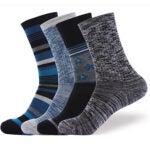 Best Wool Socks Options: EnerWear 4 Pack Women's Merino Wool