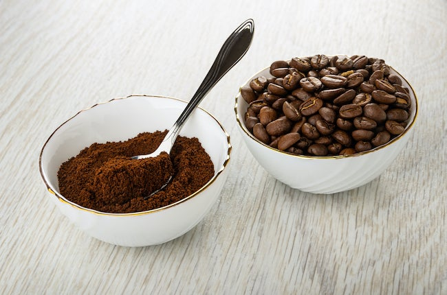 Coffee grounds freshen microwave smells