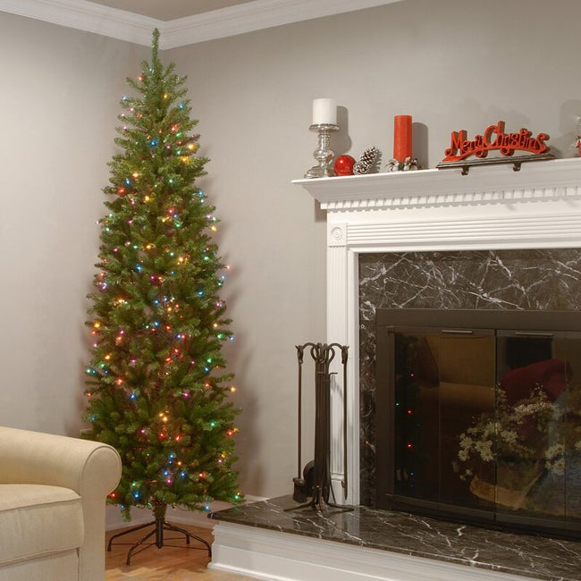 wayfair pre lit half christmas tree