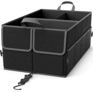 Best Trunk Organizer Options: EPAuto 3-Compartment Cargo Trunk