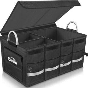 Best Trunk Organizer Options: Oasser Trunk Organizer Cargo Organizer Trunk