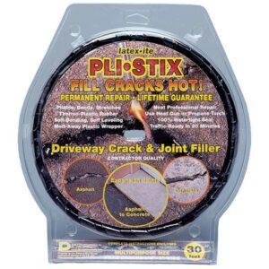 The Best Asphalt Driveway Crack Filler Option: Latex-ite Pli-Stix Blacktop Joint and Crack Filler