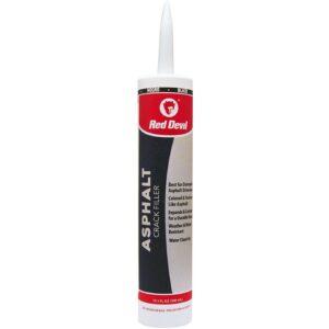 The Best Asphalt Driveway Crack Filler Option: Red Devil 0637 Acrylic Asphalt Crack Filler Sealant