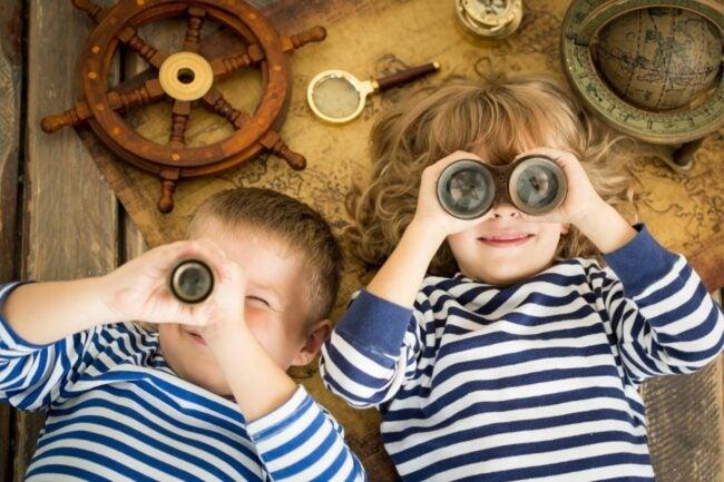 儿童选择最好的双筒望远镜