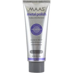 The Best Brass Cleaner Option: MAAS 91401 Metal Polish 4 Ounce