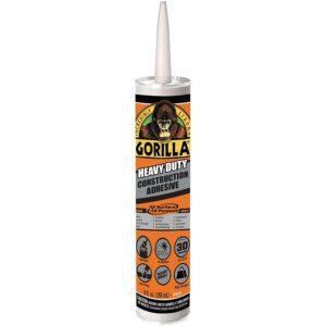 Best Construction Adhesive Gorilla