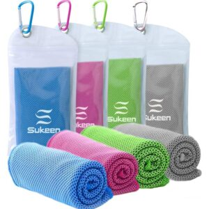 The Best Cooling Towel Option: Sukeen 4 Pack Cooling Towel