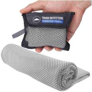The Best Cooling Towel Option: Tough Outdoors Cooling Towel
