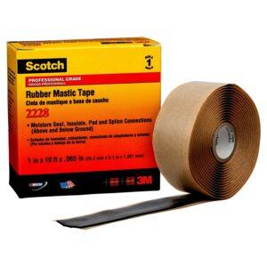 最好的电气胶带选项:3M 2228苏格兰湿度密封电气胶带