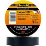 最好的电气胶带选项:Scotch(R)Super 33(TM)乙烯基电气胶带