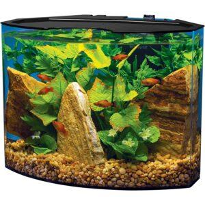 最好的鱼缸选项:Tetra新月丙烯酸水族箱套件
