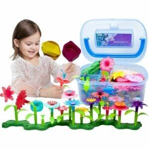 儿童选项最好的花园套装: BIRANCO. Flower Garden Building Toys
