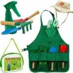 适合儿童的最佳花园套餐选项:出生的玩具儿童园艺套装