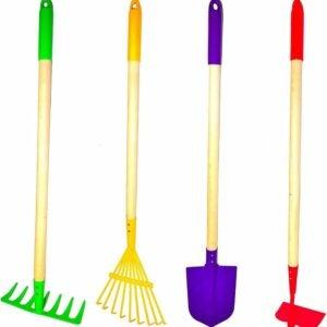 适合儿童的最佳花园套餐选项:G&F产品Justforkids Kids Garden工具集玩具