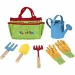 儿童最好的花园套选择:小园丁工具套装与园林工具包