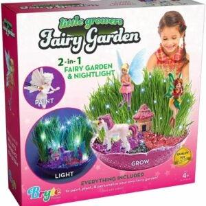 最好的花园套装选择:小种植者童话花园工艺套件