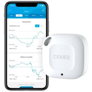 The Best Indoor Thermometer Option: Govee Wireless Thermometer Hygrometer