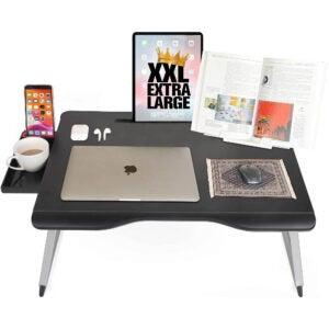 最好的膝盖桌面选项:Cooper Mega表[XXL折叠笔记本电脑桌]