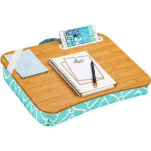 The Best Lap Desk Option: LapGear Designer Lap Desk with Phone Holder
